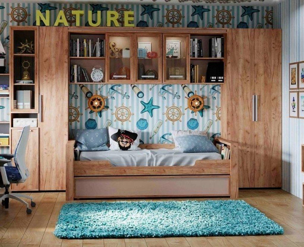 Модульная мебель в детскую Nature: Модульная мебель в детскую Nature в Стильная мебель