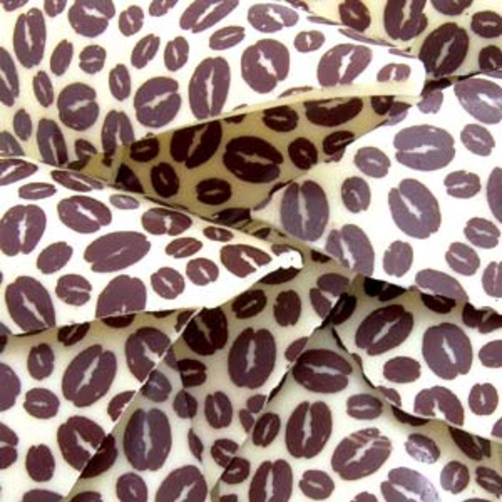 Шоколадный декор: Переводной лист Кофейные зерна в ТортExpress