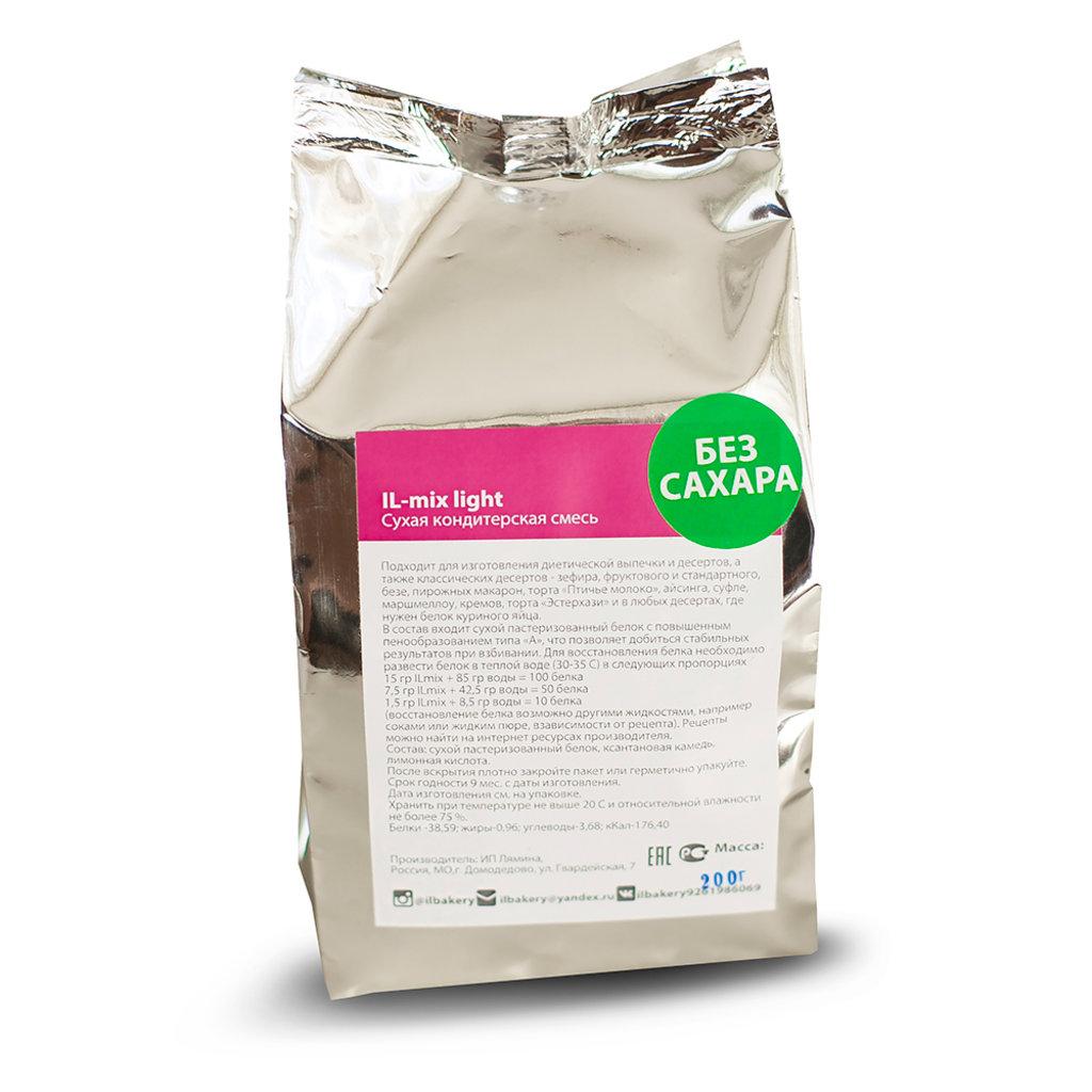 Ингредиенты: IL-mix light, 200 г (без сахара) в ТортExpress