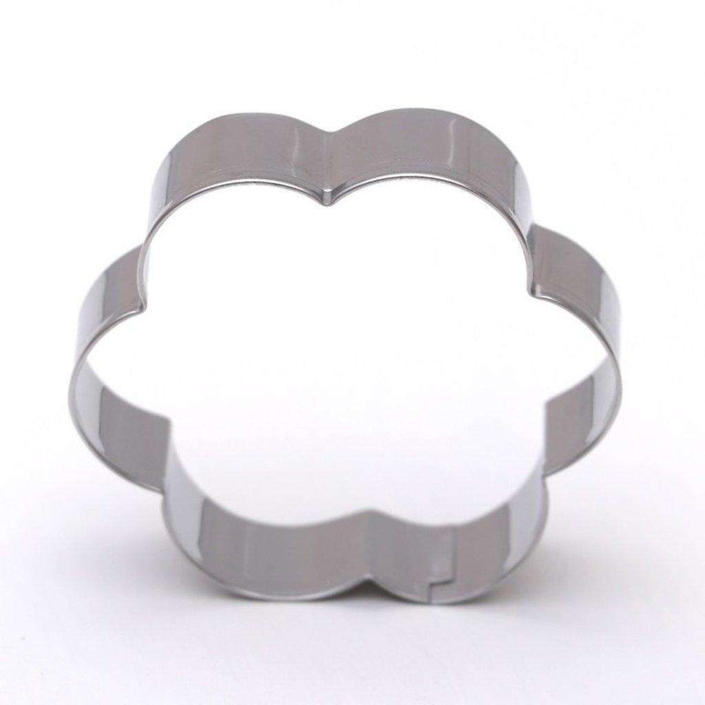 Кондитерский инвентарь: Форма для вырезания печенья Цветок 1шт в ТортExpress