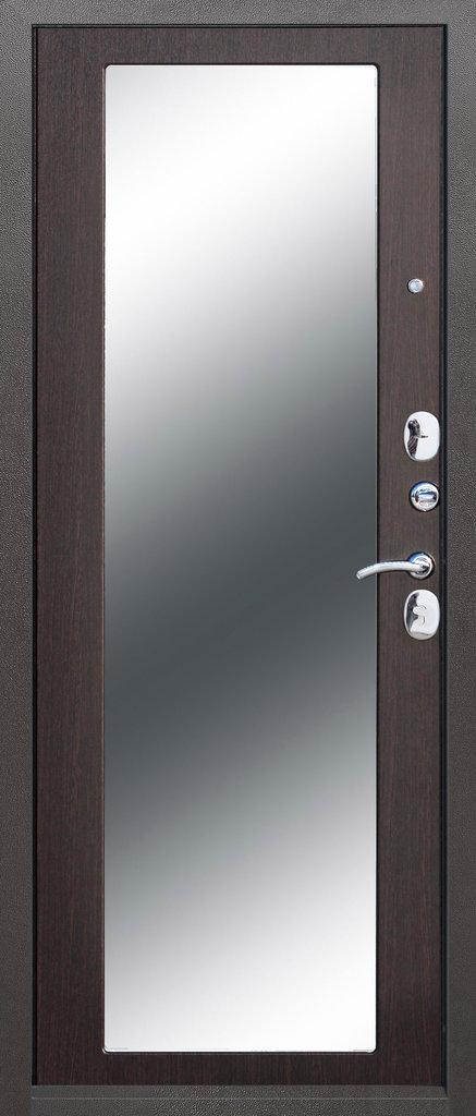 Входные двери (премиум)  от 90-110мм: Входная дверь  Троя серебро maxi в STEKLOMASTER