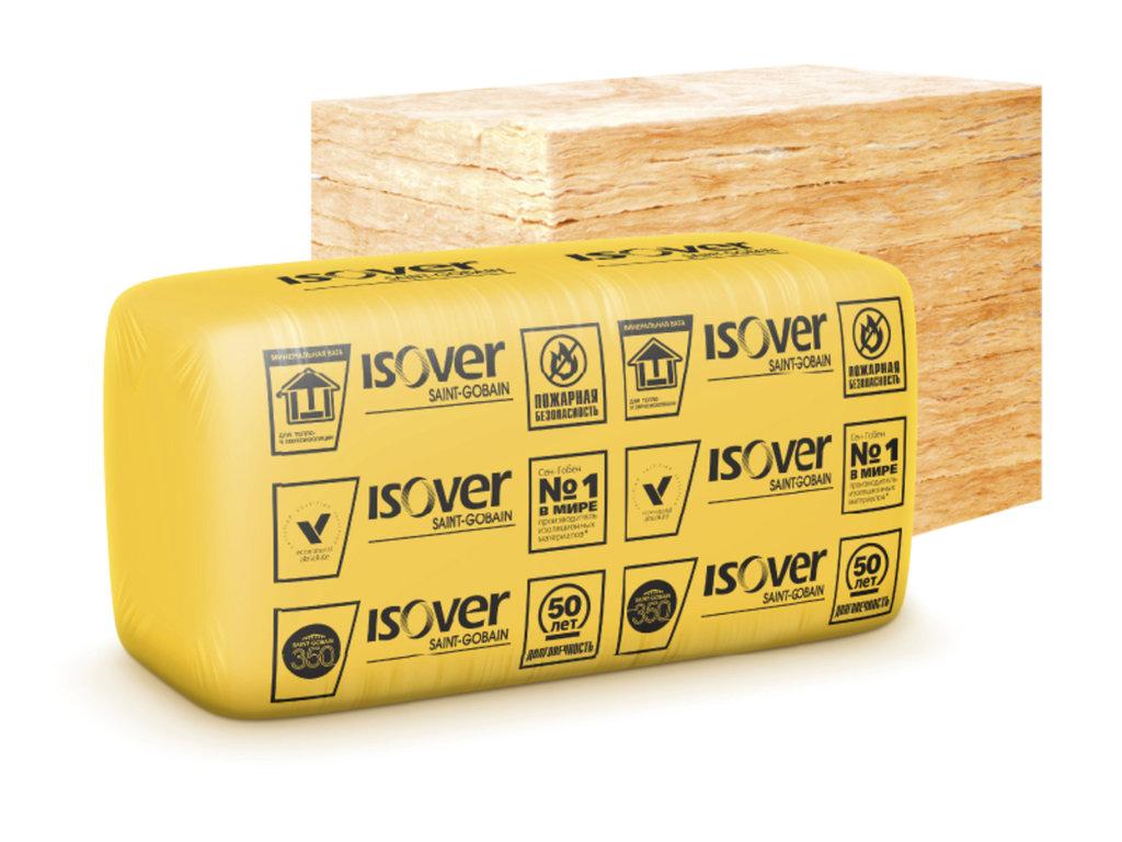 На основе кварца: Плиты Изовер Каркас П-34 1170*610*100мм (7,135м2., 0,714м3, 10шт) в АНЧАР,  строительные материалы