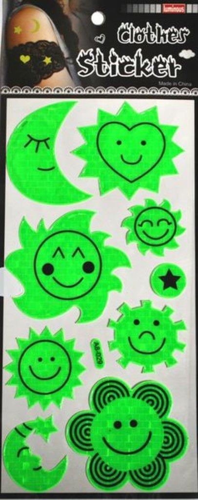 Наклейки: Наклейки флуоресцентные TUKZAR 15212 12*29см в Шедевр, художественный салон