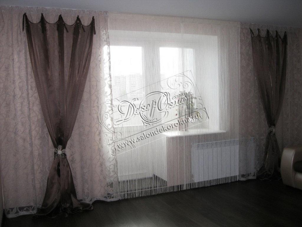 Шторы, портьеры: Шторы нитяные в Декор окна, салон