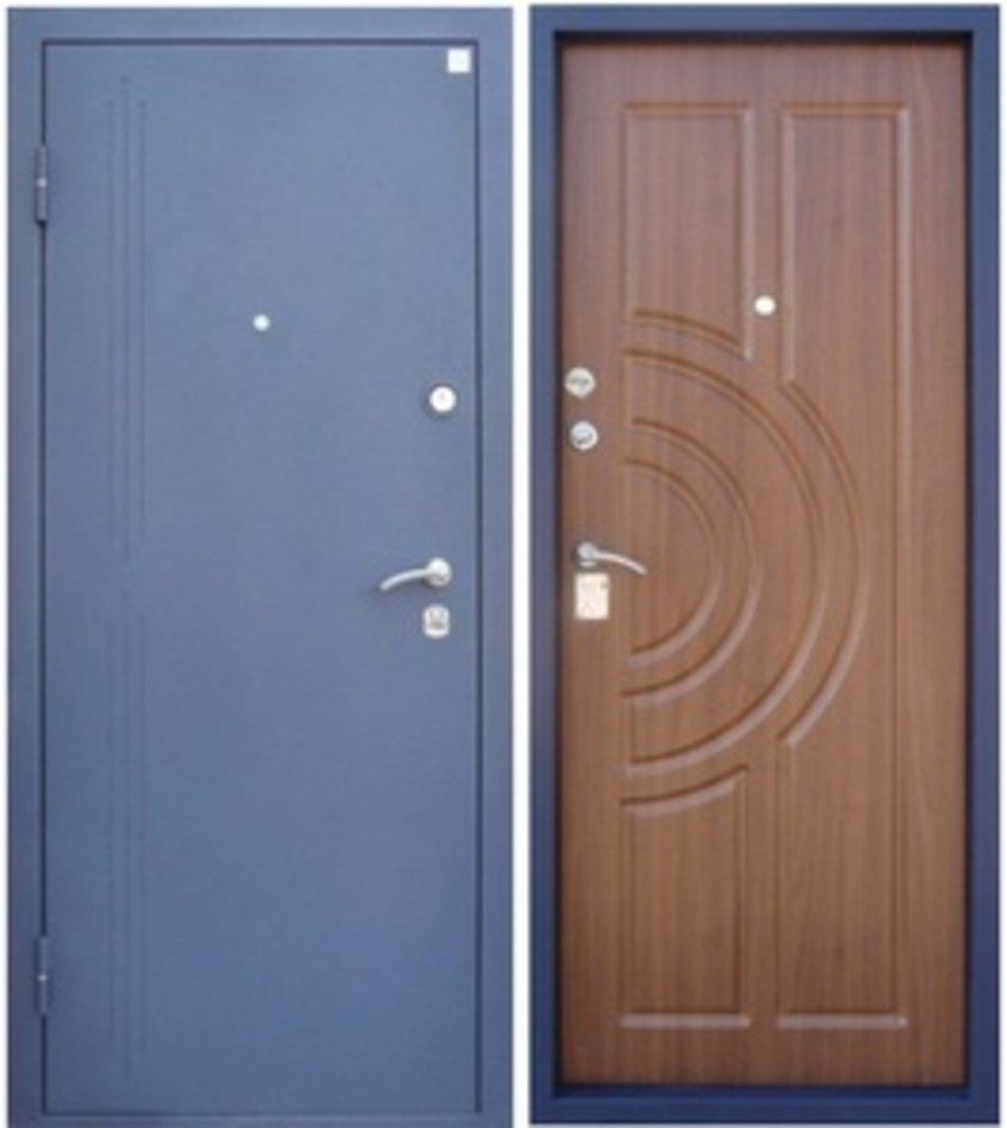 Входные двери Алмаз: Малахит- Синий сатин в Модуль Плюс