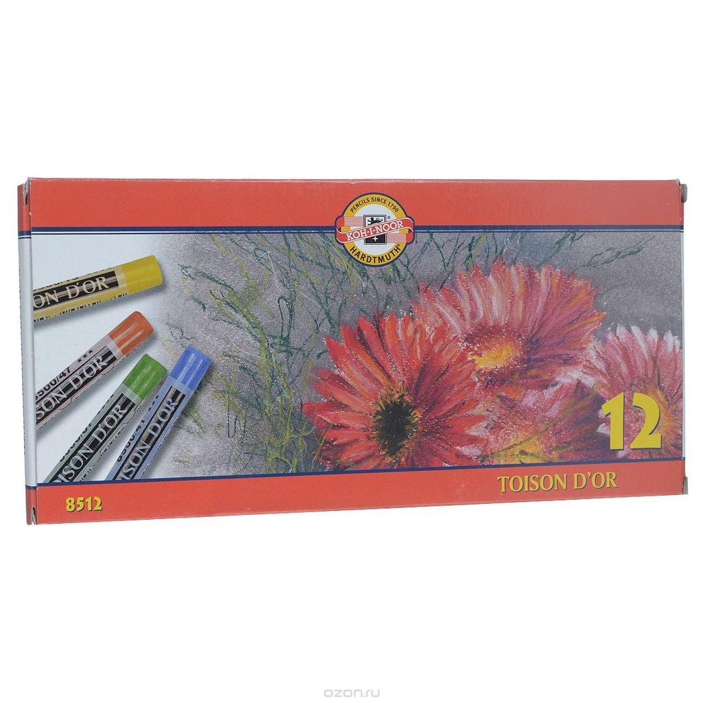 Пастель: Пастель TOISON D'OR oil pastels, 12 цветов в Палитра