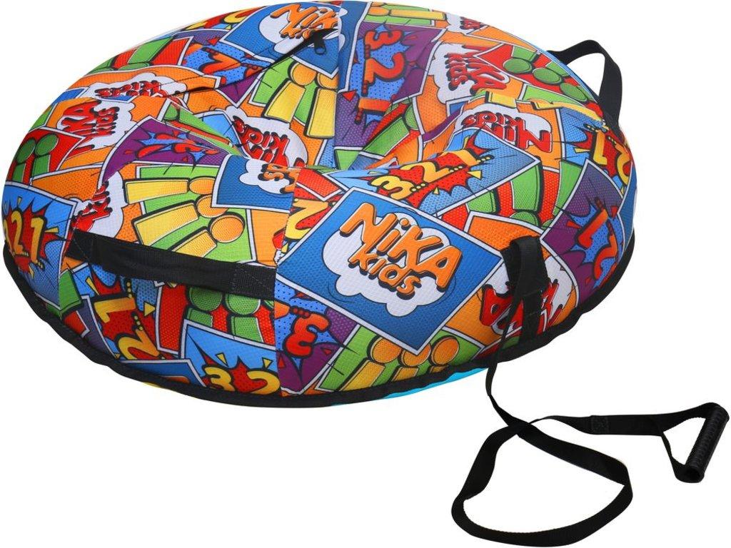 Настольные и спортивные игры: Тюбинг ТБ5К-90/3 принт в стиле комиксов Nika в Игрушки Сити