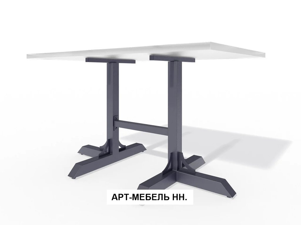 Подстолья для столов.: Подстолье 0.12 (чёрный) в АРТ-МЕБЕЛЬ НН