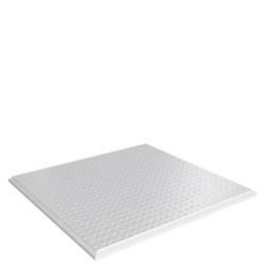 Кассетные металлические потолки: Кассетный потолок (Cesal)  Tegular 3313 /45°/Т-24 металлик перф. в Мир Потолков