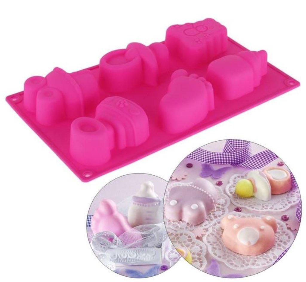 Кондитерский инвентарь: Форма для выпечки Для новорожденных в ТортExpress