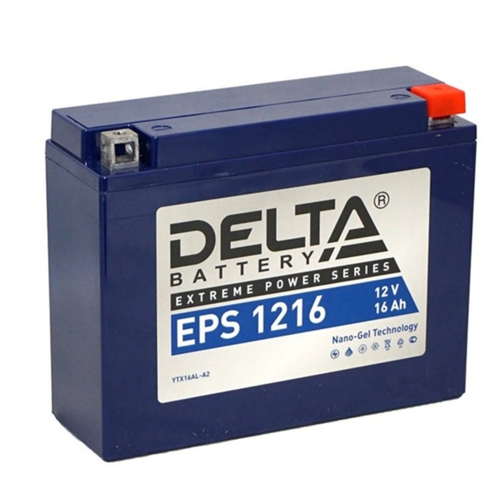 Delta: DELTA EPS 1216 в БазаАКБ
