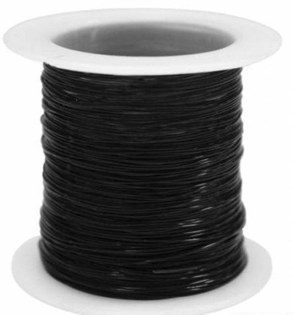 Леска: Леска для бисера 0,4мм*30м(черный) в Редиант-НК