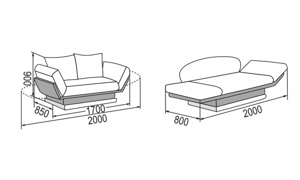 Диваны: Диван-кровать Улыбка в Уютный дом
