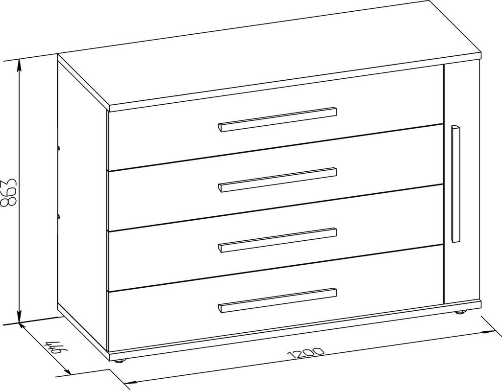 Комоды для дома: Комод BAUHAUS15 в Стильная мебель