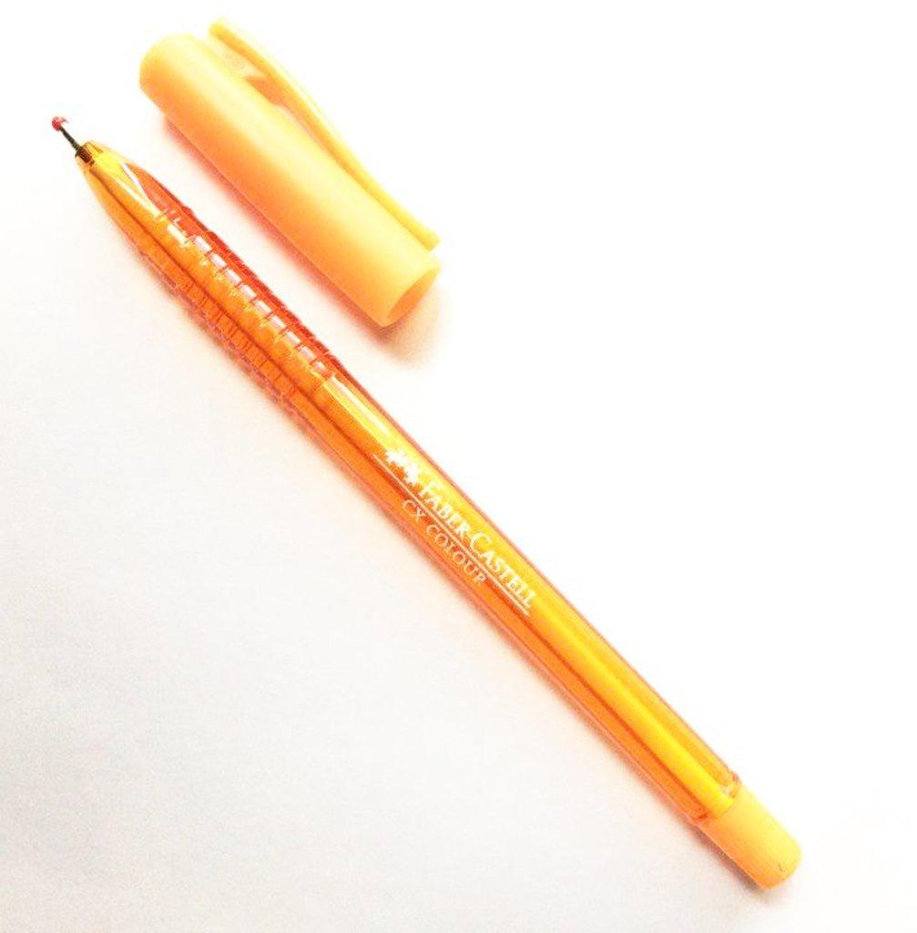 Ручки: Роллер СХ5 , оранжевый , 1.0 мм Faber-Castell в Шедевр, художественный салон
