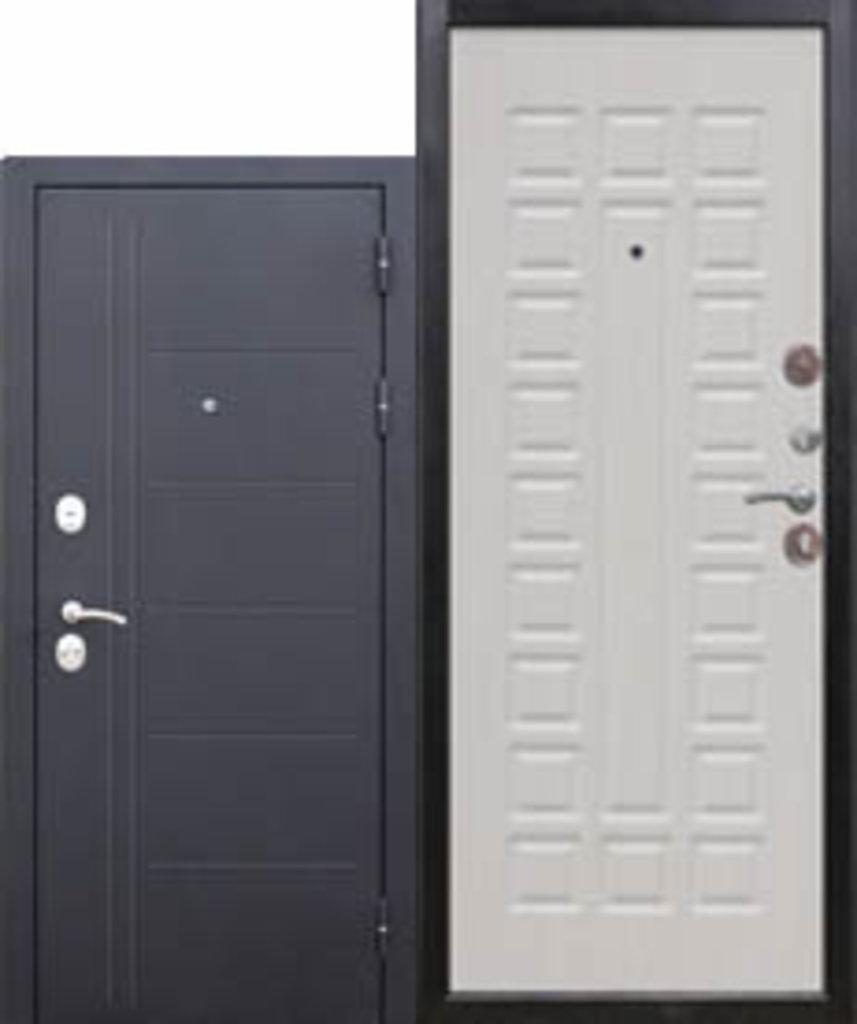 Двери завода Феррони: 10 см Троя Чёрный Шёлк Белый ясень в Модуль Плюс