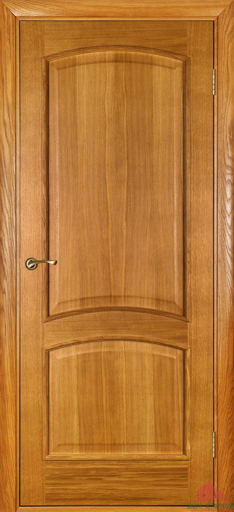 Двери Белоруссии  шпонированые: Капри (светлый дуб) в STEKLOMASTER
