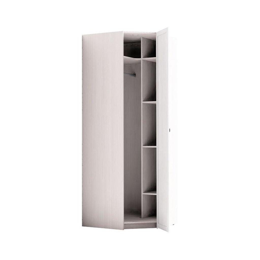 Шкафы для спальни: Шкаф угловой Марсель 56 (Зеркало) в Стильная мебель