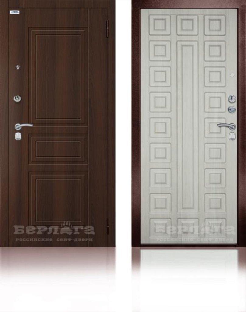 Двери Берлога: Сейф-дверь 3К Сенатор Ларче / МДФ ГАРАЛЬД КОНЬЯК СТАТУС в Двери в Тюмени, межкомнатные двери, входные двери