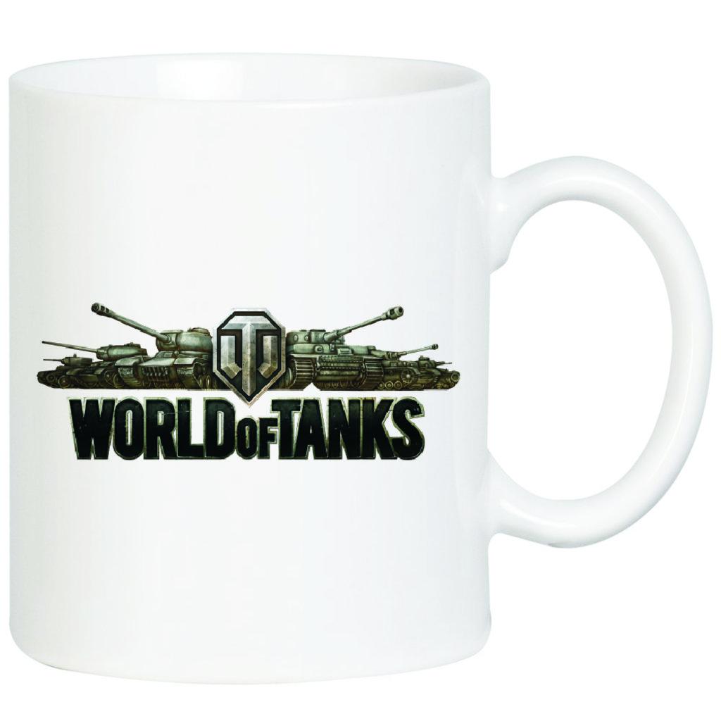 """Выбери готовый дизайн для любой кружки-заготовки: Кружка """"World of tanks"""" в NeoPlastic"""