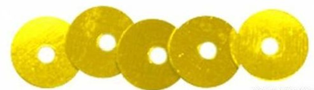 Плоские 6мм.: Пайетки плоские 6мм.упак/10гр.Астра(цвет:А1 золото) в Редиант-НК