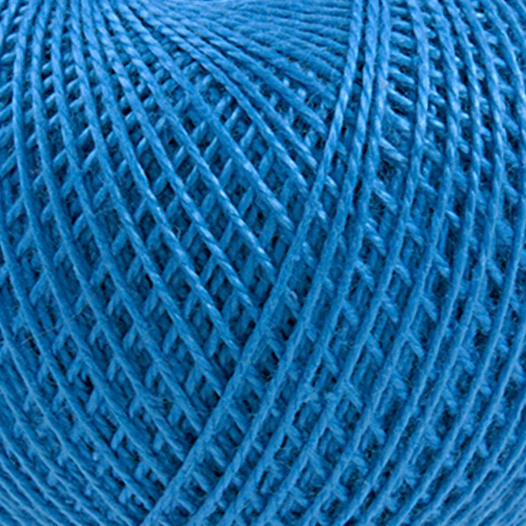 Ирис 25гр.: Нитки Ирис 25гр.150м.(100%хлопок)цвет 2508 ярко-голубой в Редиант-НК