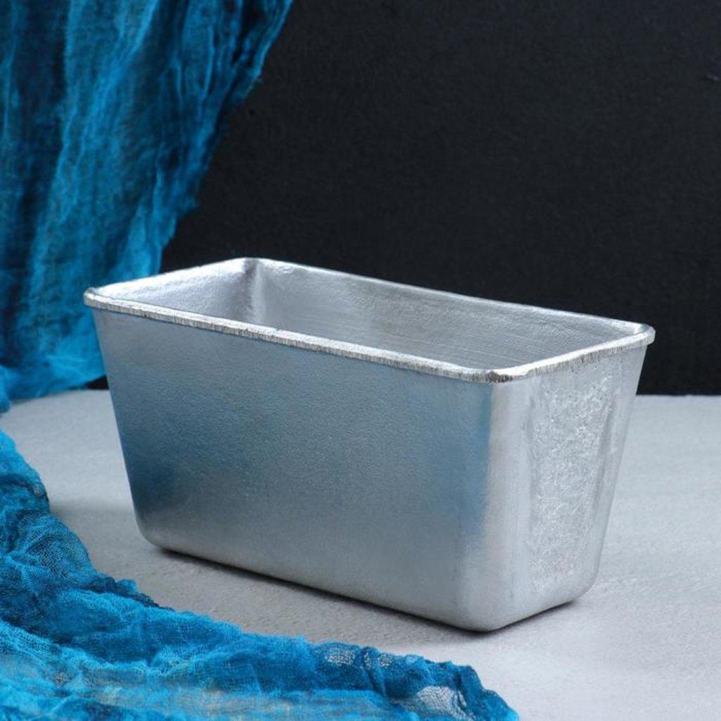 Металлические и разъёмные формы для выпечки: Форма для выпечки Хлеб 21,5х10,5х10,5см в ТортExpress