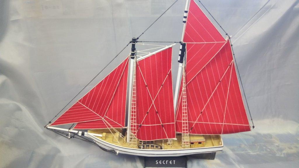"""Модели кораблей: Шхуна """"Секрет"""" в Модели кораблей"""