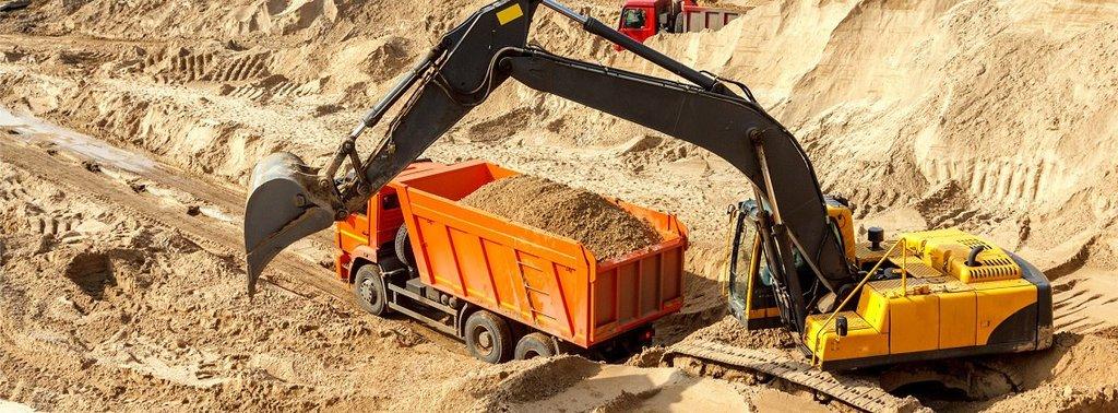 Песок карьерный в PSK 15-20, ООО