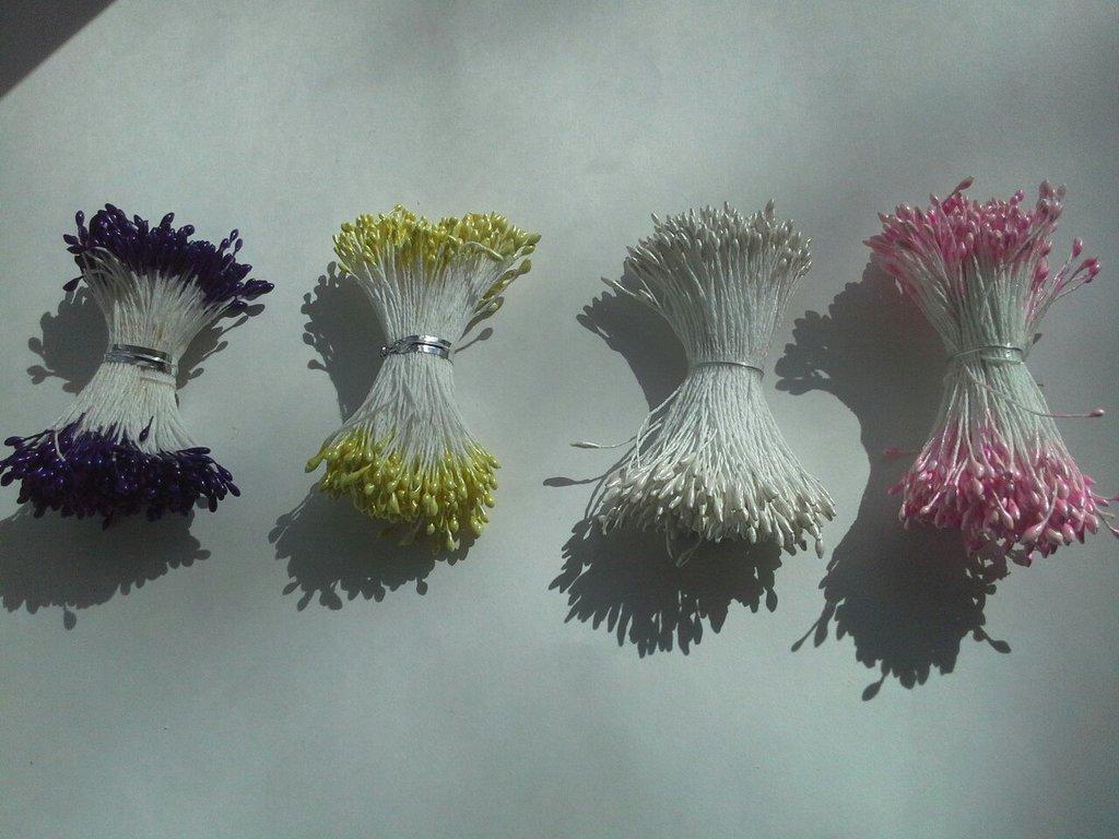 Кондитерский инвентарь: Тычинки для цветов(не съедобные) в ТортExpress