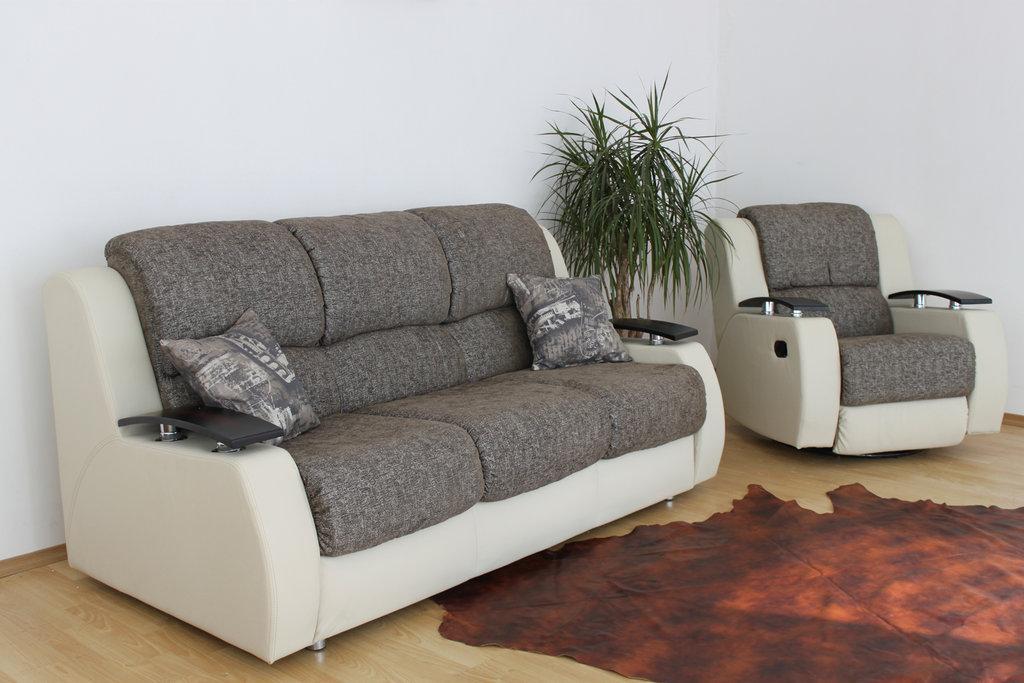 """Кресло-кровать: Кресло-диван и реклайнер """"Парма"""" в Амадео"""