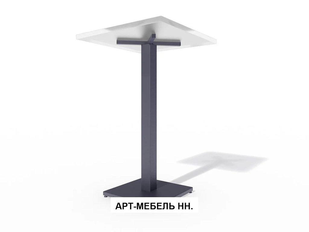 Подстолья для столов.: Подстолье барное 0.33 (чёрный) в АРТ-МЕБЕЛЬ НН