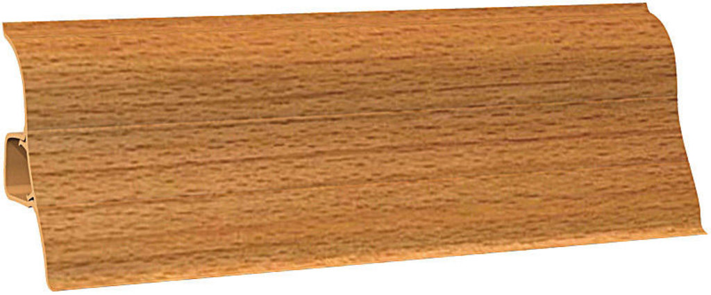 Плинтуса напольные: Плинтус напольный Ecoline 121 бук темный в Мир Потолков
