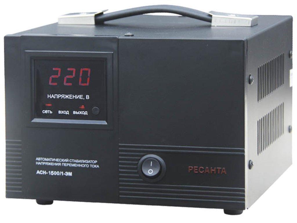 Электромеханического типа: Однофазный стабилизатор электромеханического типа РЕСАНТА АСН-1000/1-ЭМ в РоторСервис, сервисный центр, ИП Ермолаев Д. И.