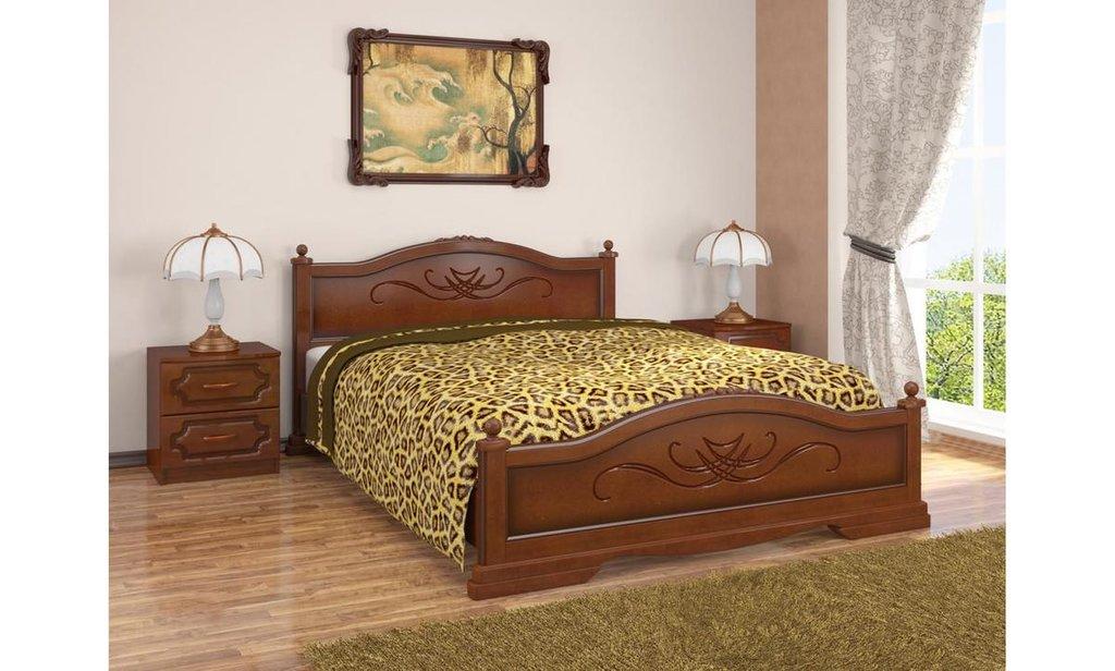 Кровати: Кровать Карина (массив) в Уютный дом