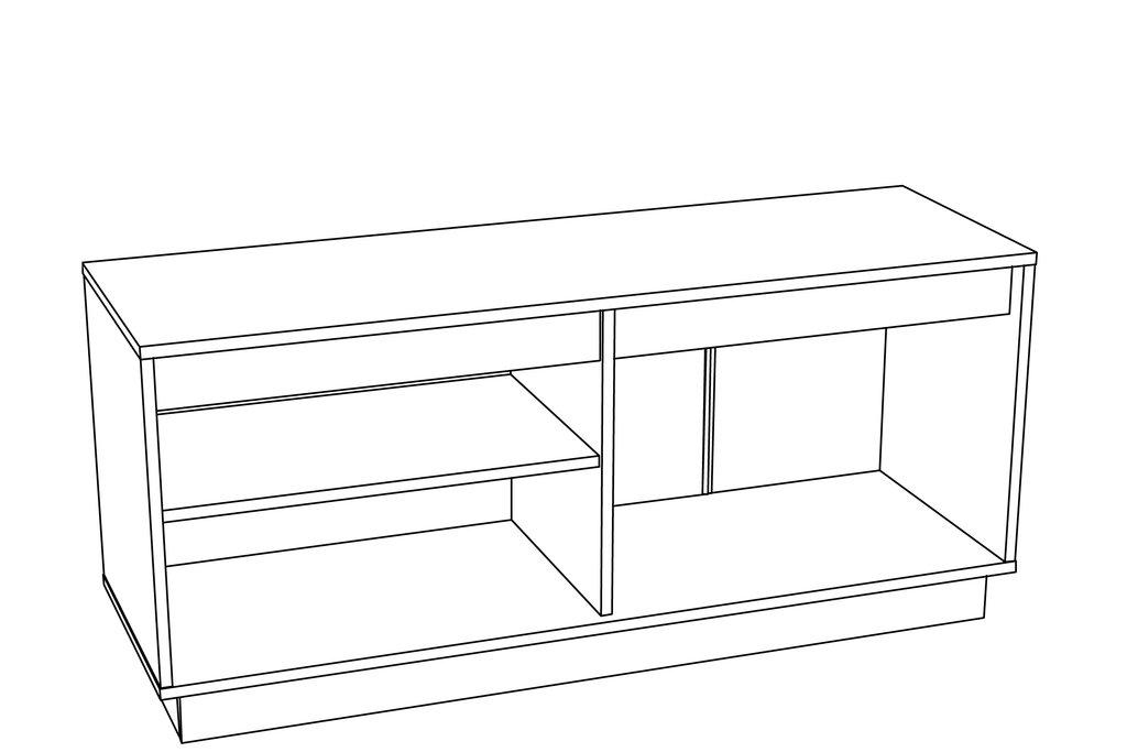 Этажерки и тумбы: Тумба VIRGINIA НМ 011.28 в Стильная мебель