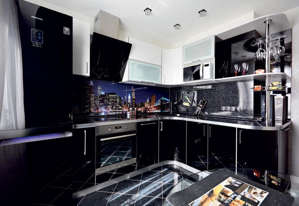 Кухни: Кухня из пластика Постформинг в Стильная мебель