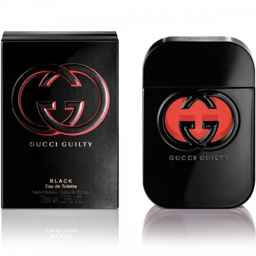 Gucci: Туалетная вода Gucci Guilty Black edt ж 75 ml в Элит-парфюм
