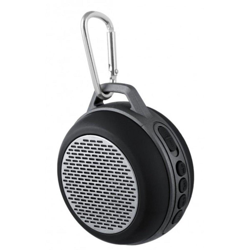 """Блютуз колонки: Bluetooth-колонка """"SOLO"""" FM, MP3 microSD, AUX, мощность 5Вт, 600mAh, черная ( Perfeo PF-5204 ) в A-Центр Пульты ДУ"""