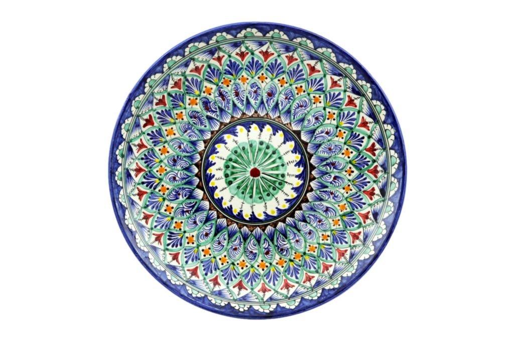Казаны. Узбекская и турецкая посуда: Ляган Риштанская керамика в Сельский магазин