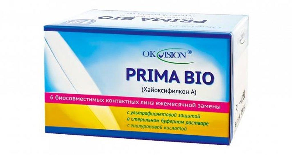 Контактные линзы: Контактные линзы Prima Bio на месяц (6шт / 8.8) Ok Vision в Лорнет