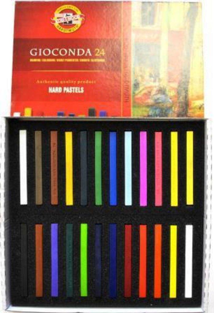 """Пастель: Набор масляной твердой пастели для художника, """"Gioconda"""" 24 цвета  KOH-I-NOOR в Шедевр, художественный салон"""