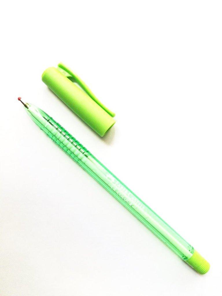 Ручки: Роллер СХ5 , салатовый , 1.0 мм Faber-Castell в Шедевр, художественный салон