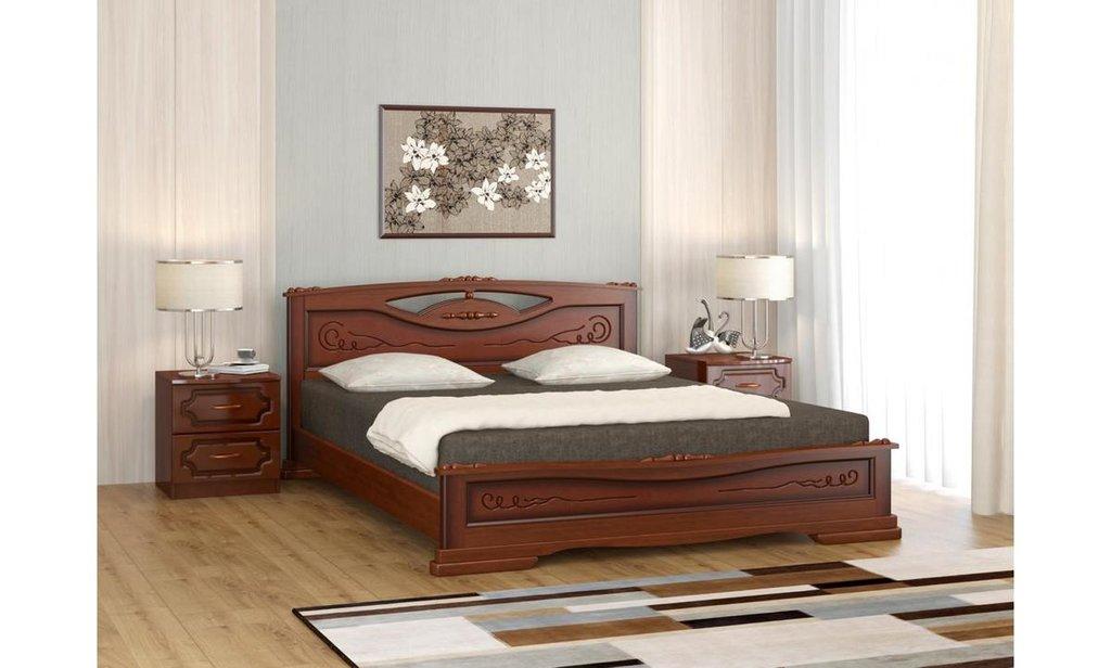 Кровати: Кровать Елена-3 (массив) в Уютный дом