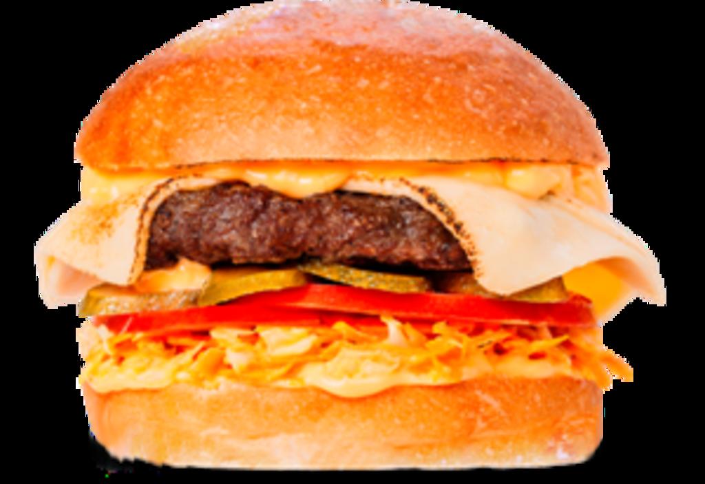Бургеры с говядиной: Много сыра в Tesla Burger Тюмень