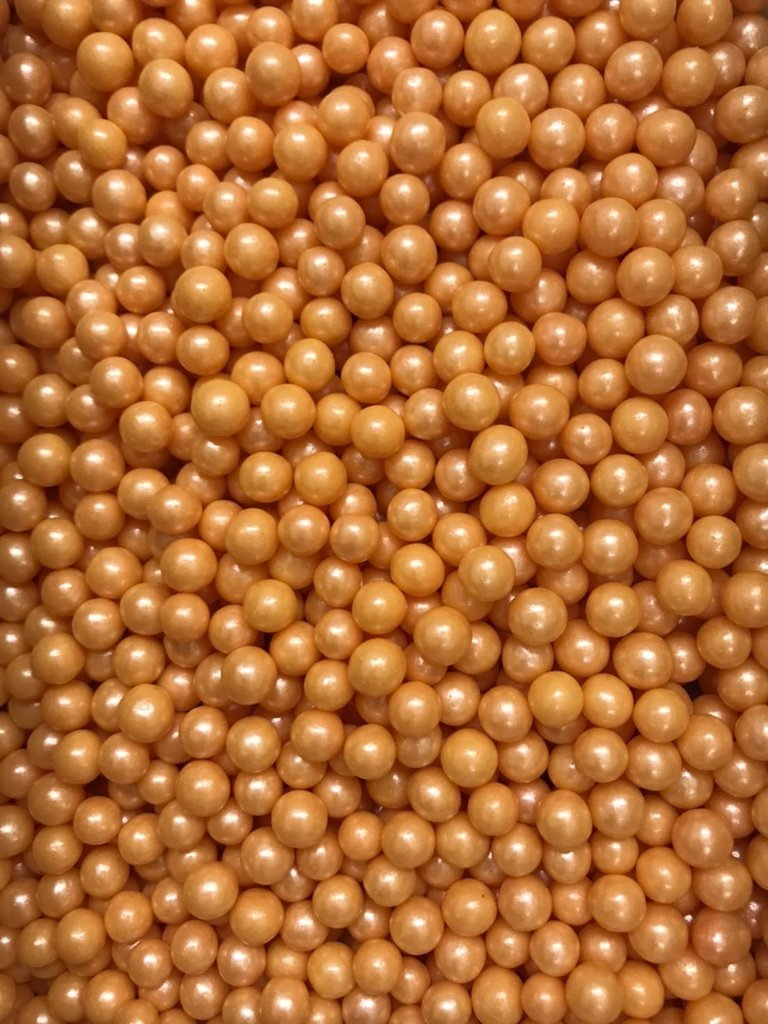 Посыпки декоративные: Посыпка Драже зерновое Жемчуг  персиковый  6-8мм 100г в ТортExpress