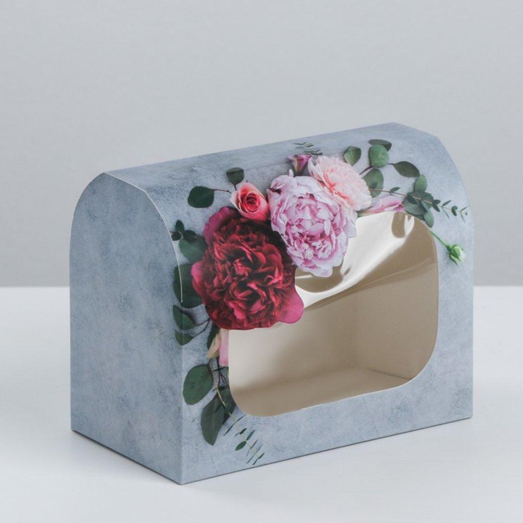 """Коробки для кондитерских изделий: Коробка под конфеты """"Маленькая радость для тебя"""", 14 × 10 ×8 см в ТортExpress"""