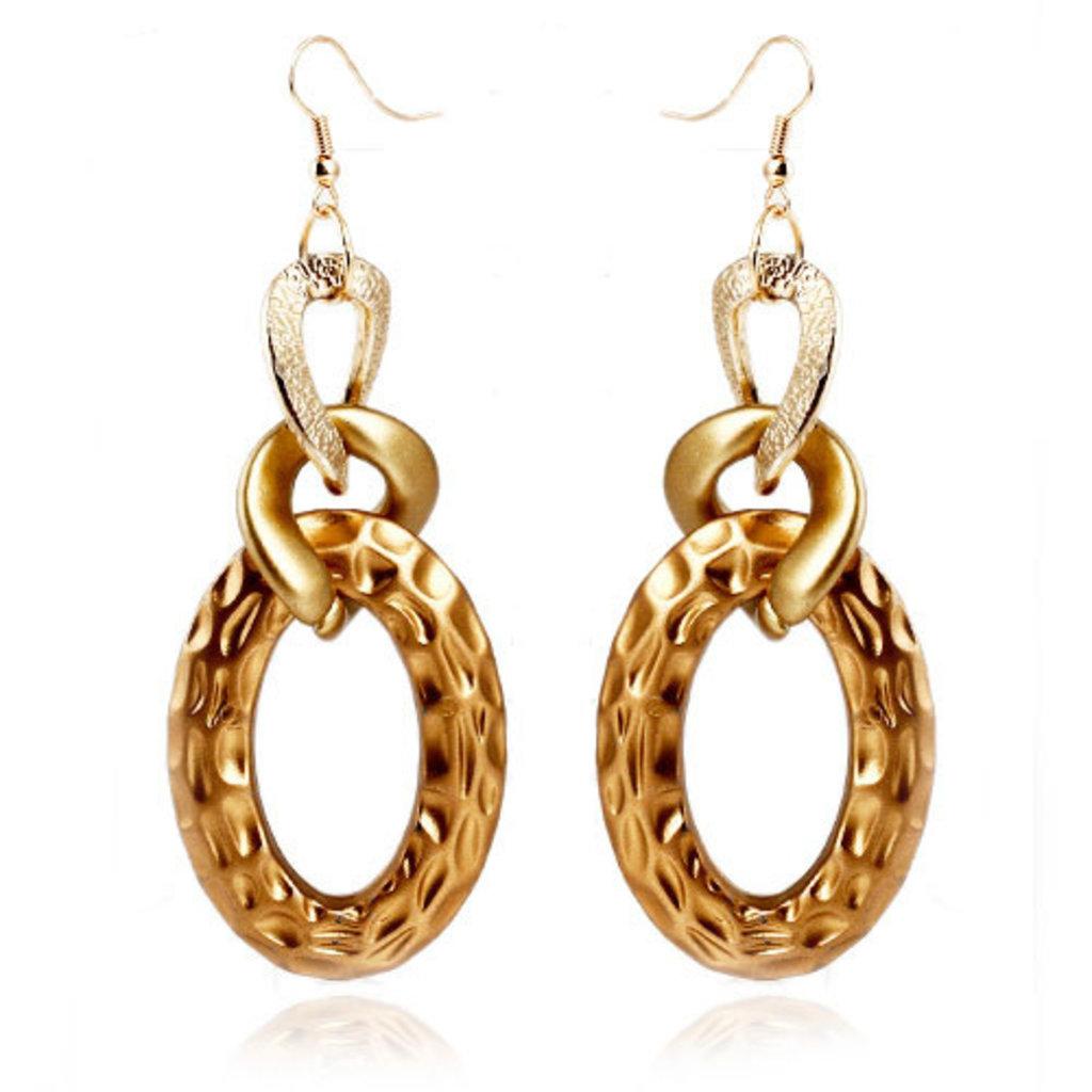 Ювелирные изделия: Золотые серьги в Алмаз, ювелирная мастерская, ООО