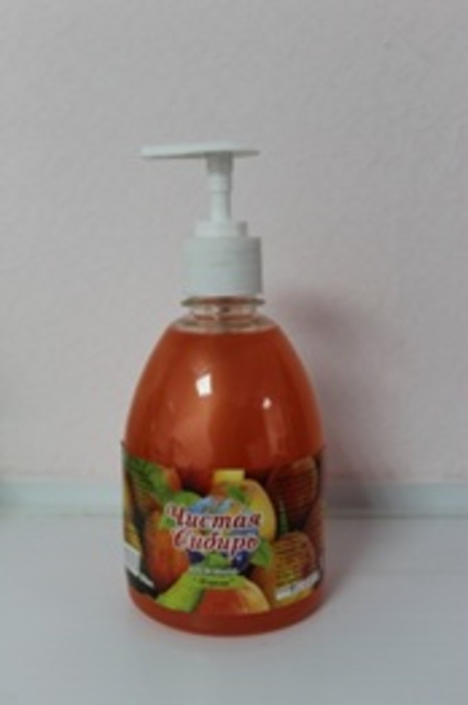 Жидкое мыло премиум класса: Орхидея - жасмин 0,5 л (дозатор) в Чистая Сибирь