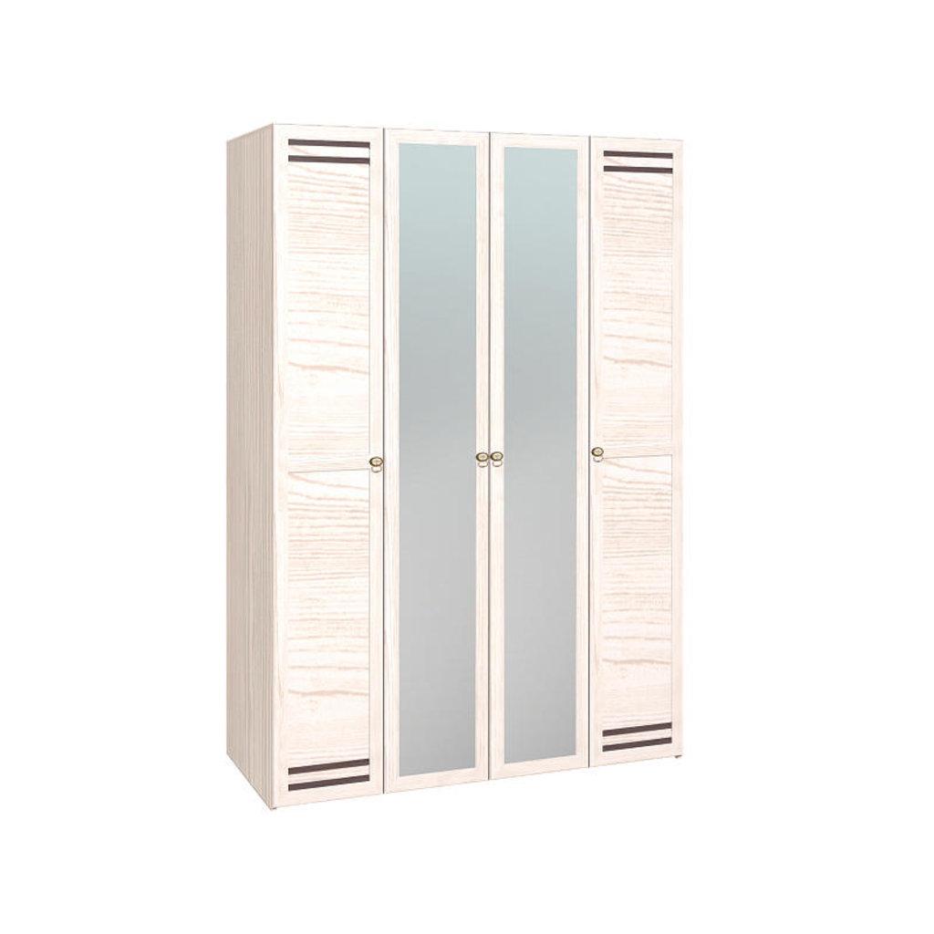 Шкафы для одежды и белья: Шкаф для одежды и белья Бриз 555 в Стильная мебель